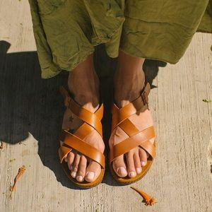 Chaco Wayfarer Leather Sandals